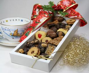 Gute Weihnachtskekse.Weihnachtskeks Als Kundengeschenk